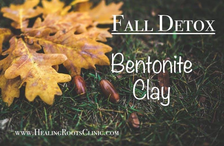 detox bentonite clay