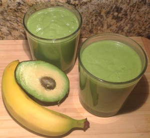 healthy st patricks day smoothie recipe (mint shake)