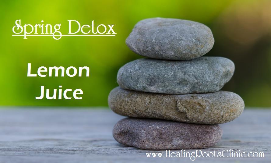 Detox Lemon Juice Naturopathic Doctor Denver Colorado