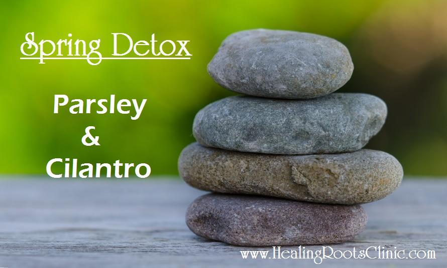 Detox Parsley Cilantro Natruopathic Doctor Denver Colorado