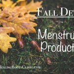 detox menstrual products
